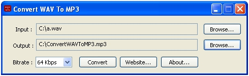 Free software to convert WAV to MP3