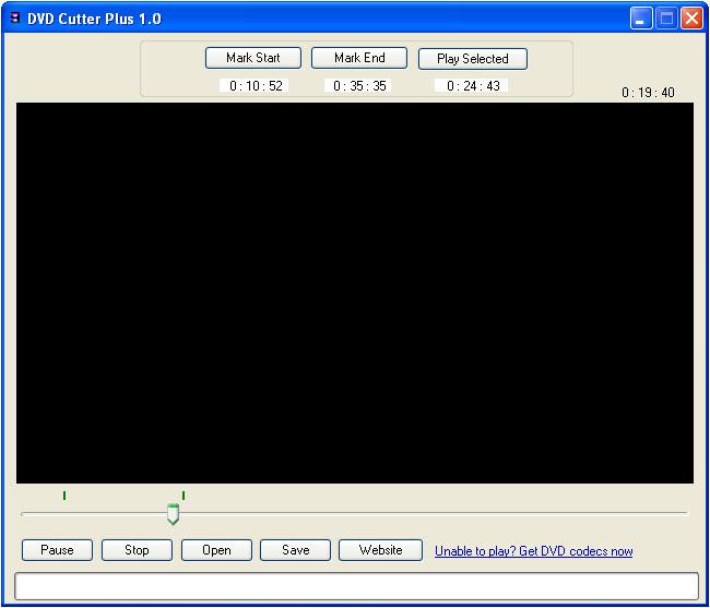 DVD Cutter Plus - Easily cut DVD(VOB) video files